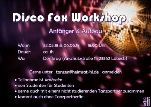 Disco Fox Workshop-Flyer